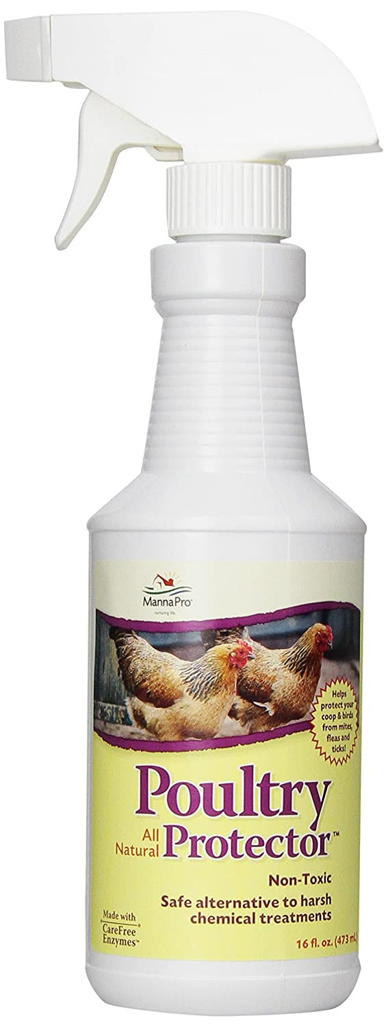 Manna Pro 0502035355 Ready-to-Use Poultry Predector for Birds 16-Ounce
