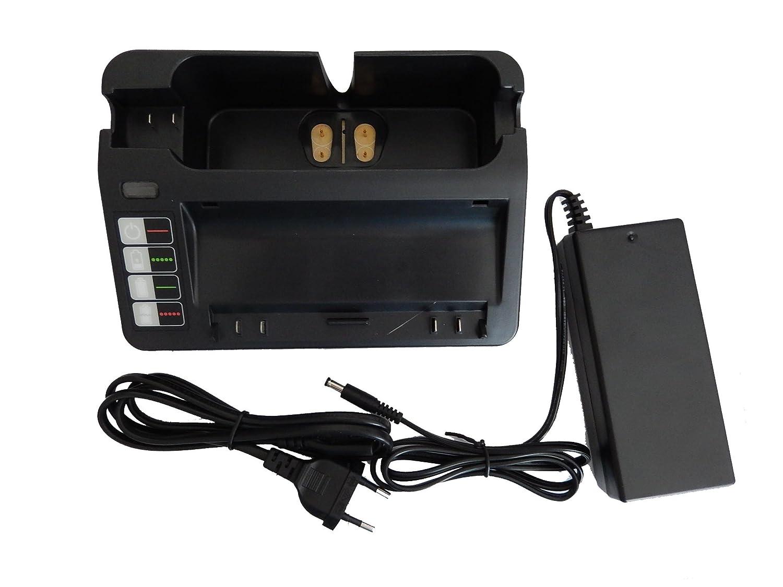 Cable de Carga para iRobot Roomba 660 vhbw Fuente de alimentaci/ón 220V 670 671 790 665 BPL18151. 675 Cargador 966 reemplaza 14904