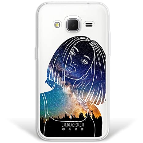 WoowCase Funda Samsung Galaxy Core Prime, [Hybrid] Chica ...