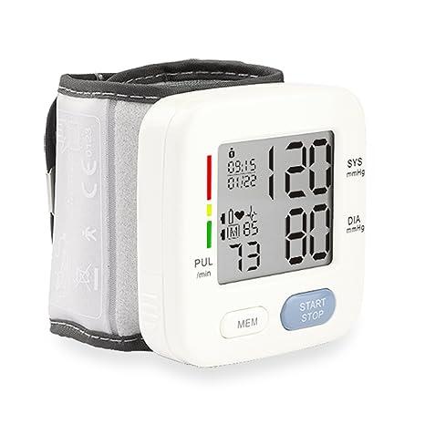 2017 nueva, monitor de presión arterial digital BP Monitor con memoria de almacenamiento, pantalla