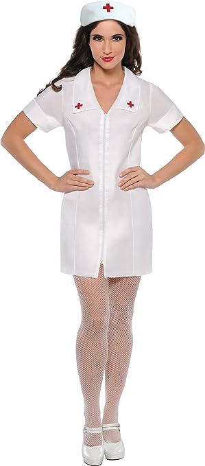 Christy`s 996181 - Disfraz de enfermera para mujer (adulto) (talla ...