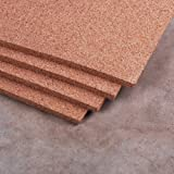 """Manton Cork Sheet, 100% Natural, 4' x 8' x 1/2"""" - Thickest available"""