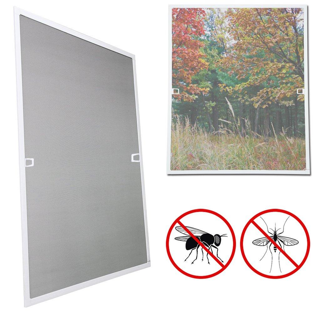 wolketon 95x210CM Fliegengitter t/ür fliegengitter Gitter insektenschutz t/ür Wasserdicht Alu-Rahmen fliegengitter fiberglas F/ür Wohnzimmer Fenster Balkone