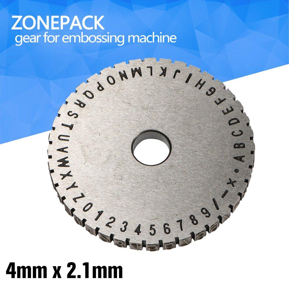 ZONEPACK Metal Stamp Printer Metal Embossing Machine Gear ZONESUN