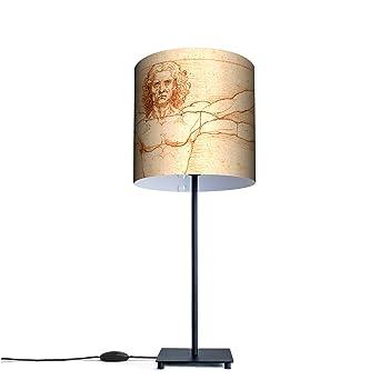 Original lámpara de mesa con diseño de diseño: de Vitruvio ...