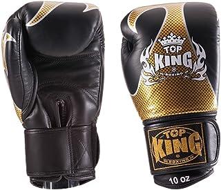 Top King 'Empower creatività' Muay Thai boxe gloves-tkbgem-01-gd-black, ragazza donna Ragazzi Uomo, Top King 'Empower Creativity' Muay Thai Boxing Gloves, Gold/Black Top King Empower Creativity Muay Thai Boxing Gloves