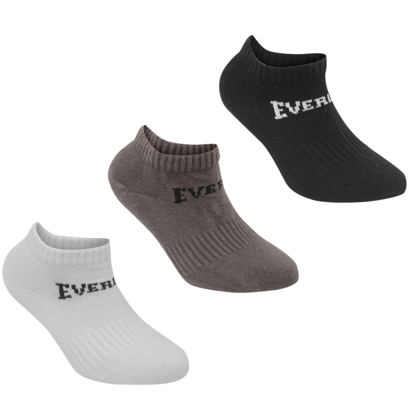 Everlast Kids 3 Pack Trainer Socks