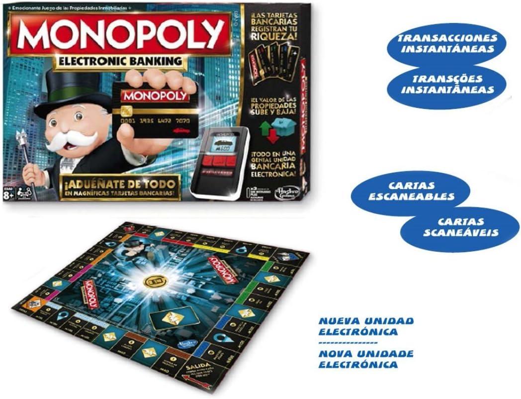Hasbro- Juego Monopoly, Multicolor (6677B): Amazon.es: Juguetes y juegos