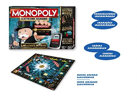 Amazon.com: Hasbro Monopoly Electronic Banking Transactions ...