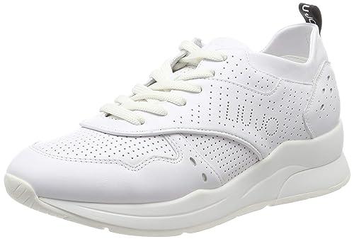 0eaa7449730e Liu Jo Jeans Karlie 14-Sneaker Calf Leather White, Scarpe da Ginnastica  Basse Donna: MainApps: Amazon.it: Scarpe e borse