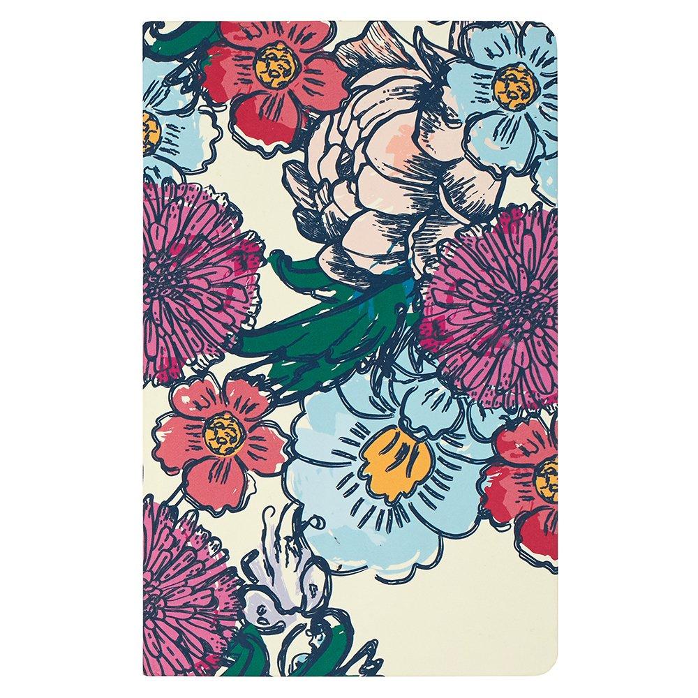 Erin Condren Hardbound LifePlanner, 2017-2018 Floral Ink, 5x8