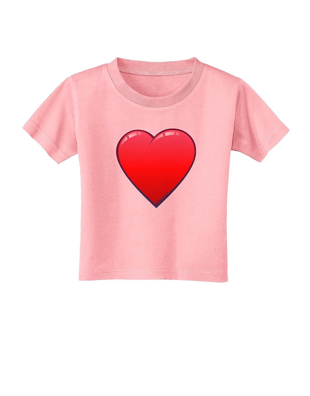 TooLoud Cute Cartoon Heart Toddler T-Shirt