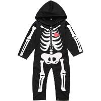 Paddy Field Baby Boy's Skeleton Costume Hoodie (12-18 Months Black01)