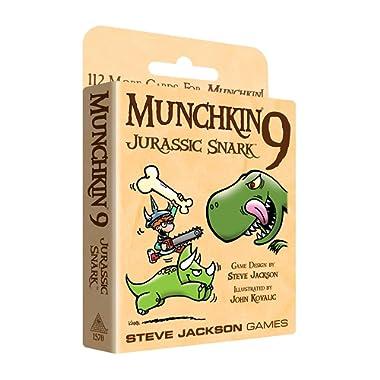 Steve Jackson Games SJG1570 Munchkin Jurassic Snark 9 Games