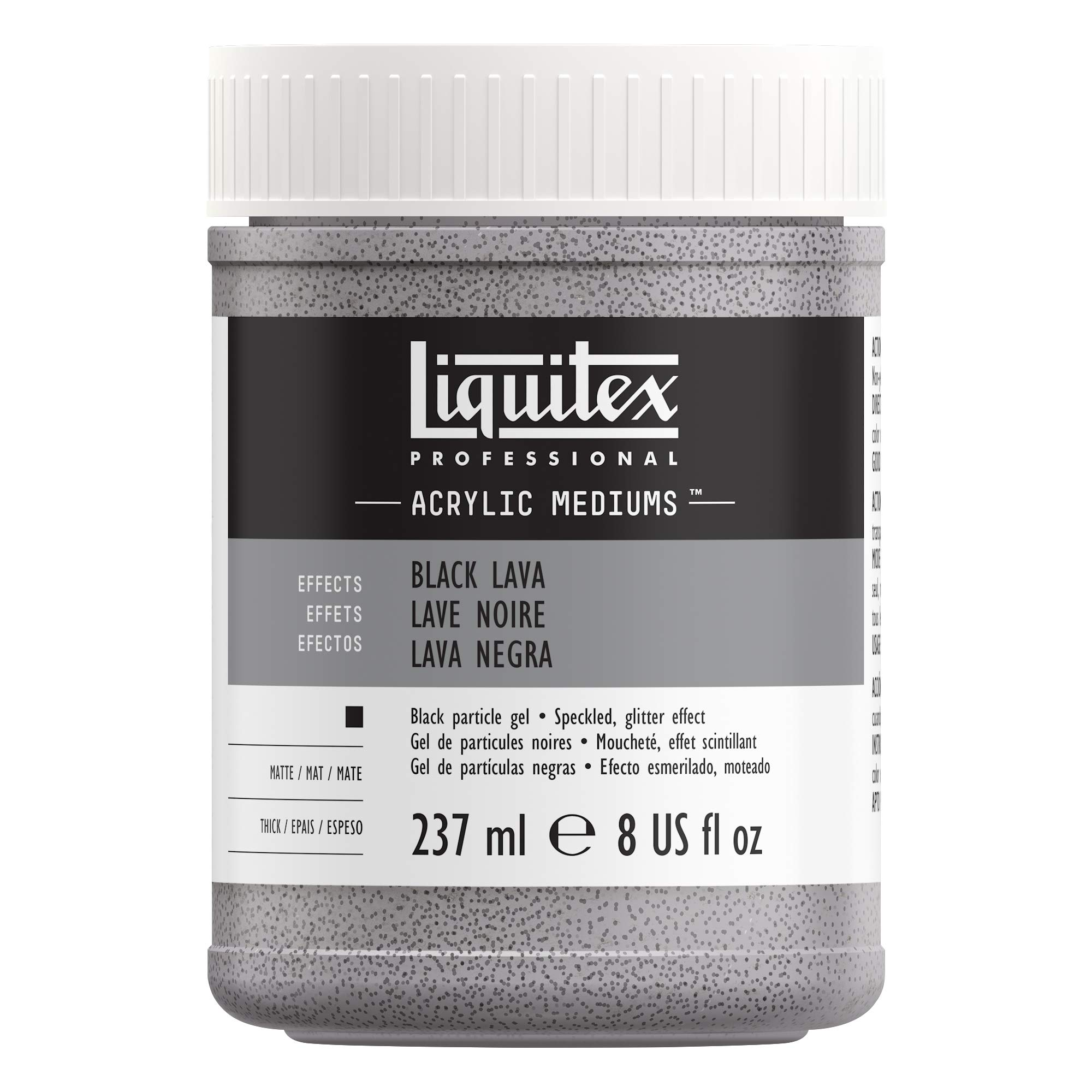 Liquitex Professional Effects Medium, 8-oz, Black Lava