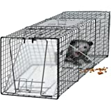 "Oxgord Humane Pest and Rodent Control Live Animal Trap - 24"" x 7"" x 7"""