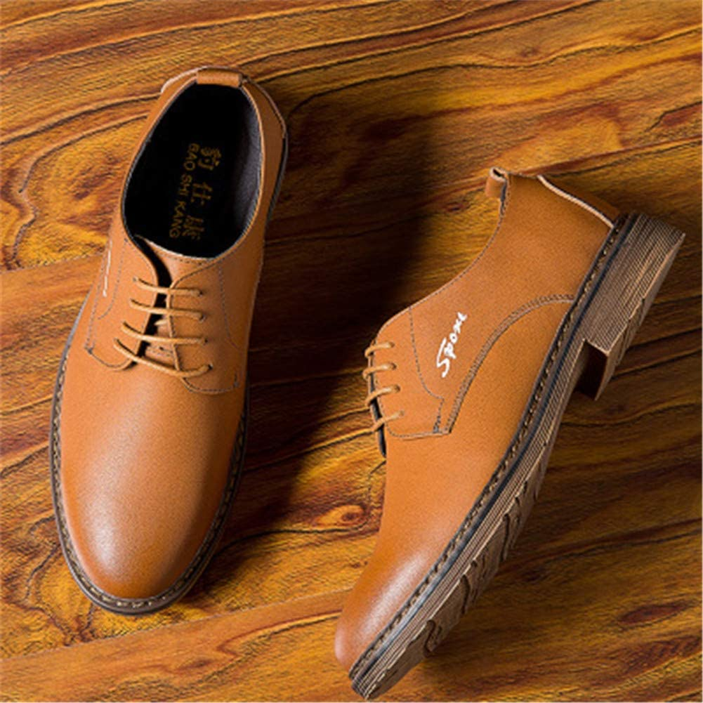 NIST Mens Single Shoes Business Dress Shoes