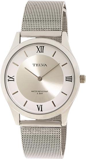 [クレファー] 腕時計 TEV-2419-SVS メンズ シルバー