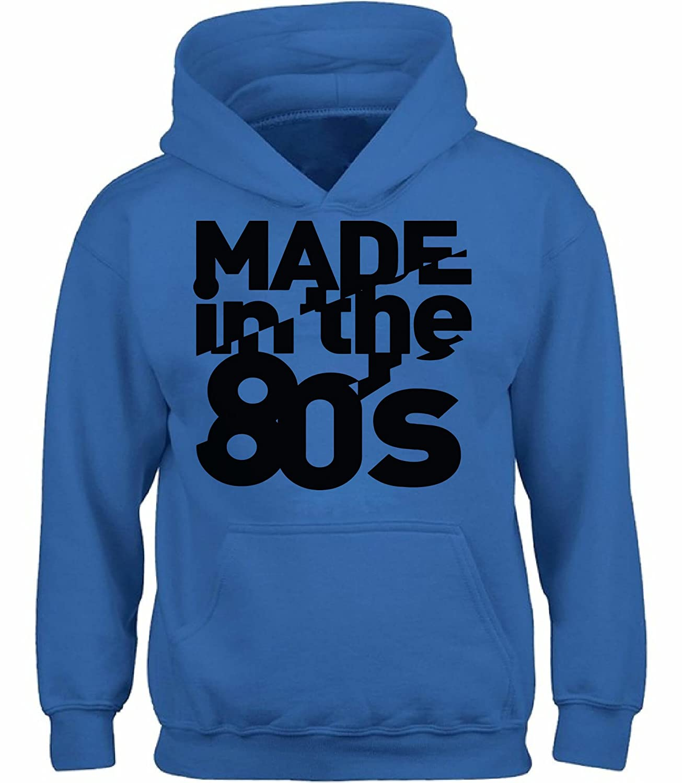 Vizor Unisex 80s Birthday Made in The 80s Hoodie Sweatshirt Cool 80s Disco 80s Party