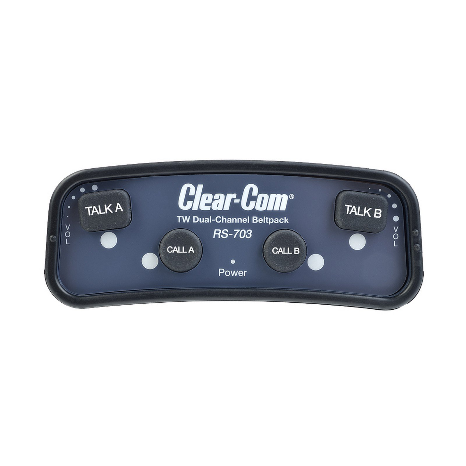 Clear-Com RS-703 | 2 Channel Intercom Wired Beltpack