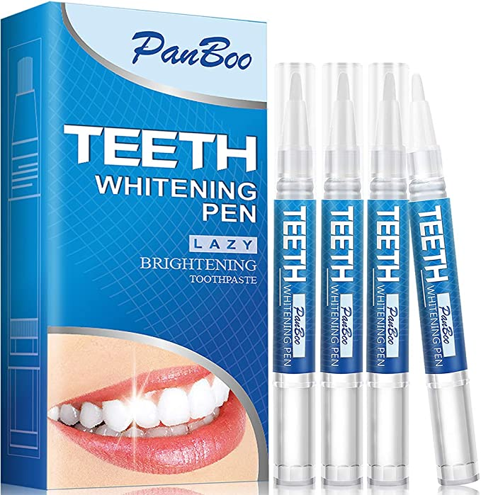 Amazon Com Teeth Whitening Pen With 4x3ml Natural Tooth Whitening