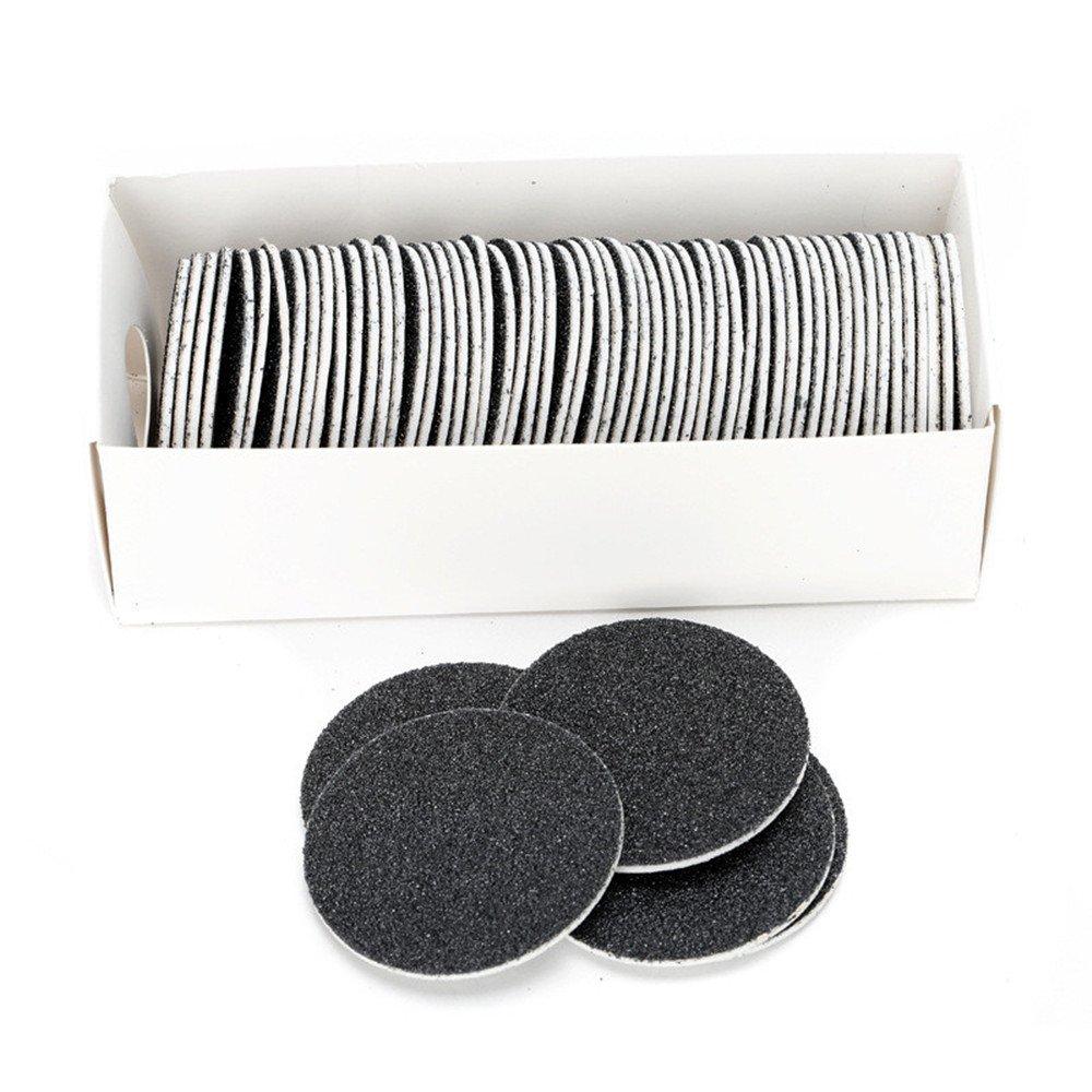 60 pcs Discos de Papel de Lija para Limpiador de callos elé ctrico para pedicura AZX