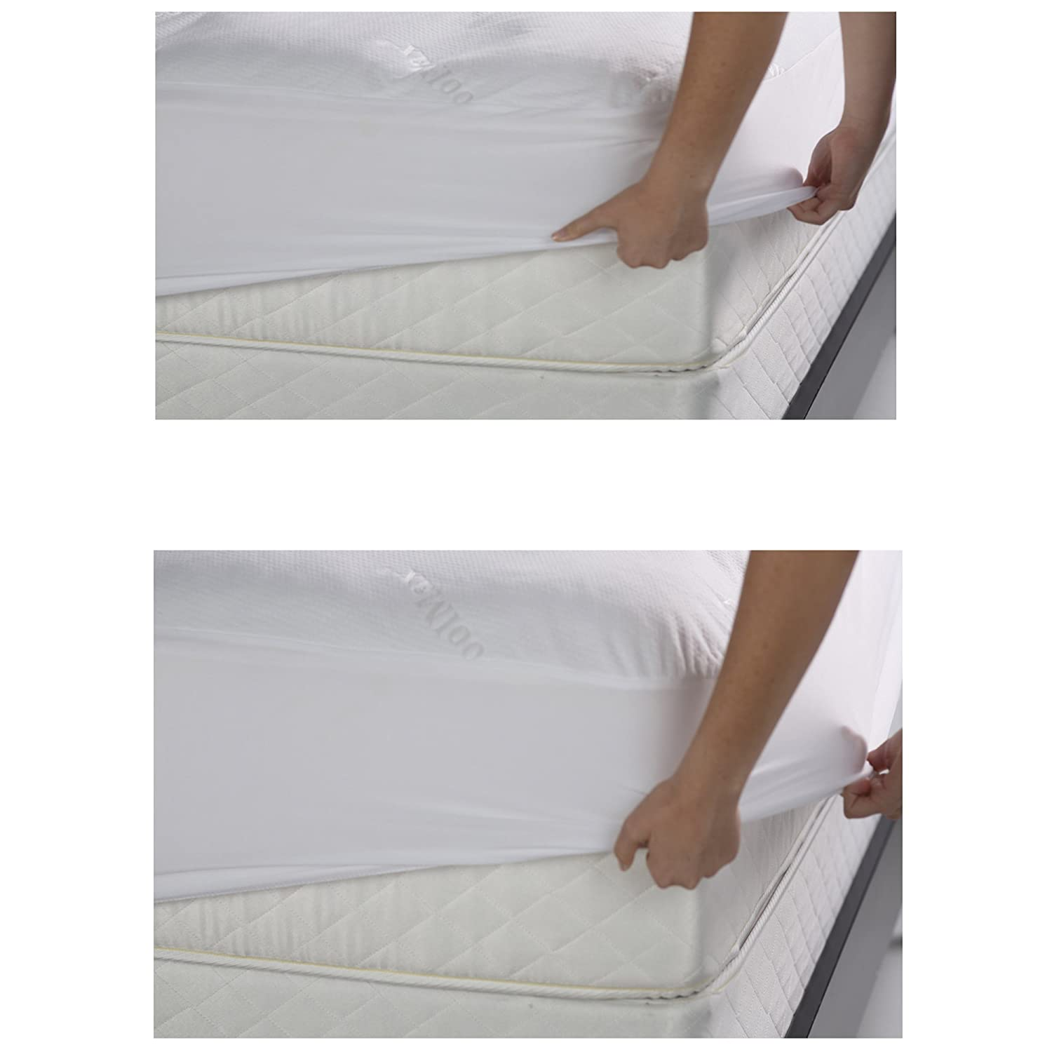 amazon com sleep chill mattress protector with soft and moisture