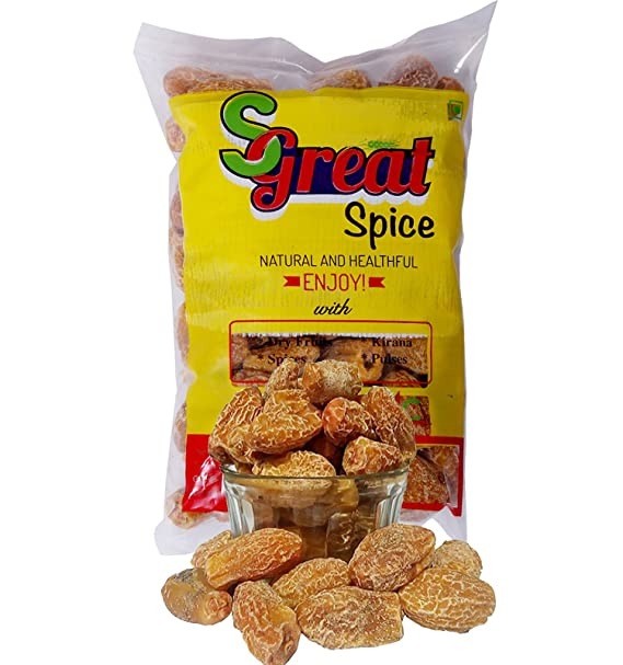 Sgreat Spice - Dry Dates - Yellow [Sukha / Pila Chuara / Endu Kharjuram /  Kharik] Fresh quality 100% guaranteed (700g)