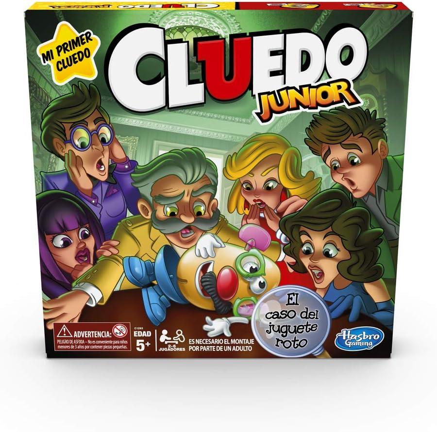 Hasbro Gaming- Cluedo Junior (C1293546)