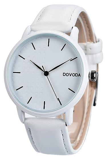 d0815850a Amazon.com: DOVODA Watches for Men Casual Classy Quartz Leather All ...