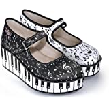Hot Chocolate Design Chocolaticas Thank You Music Women's Mary Jane Platform