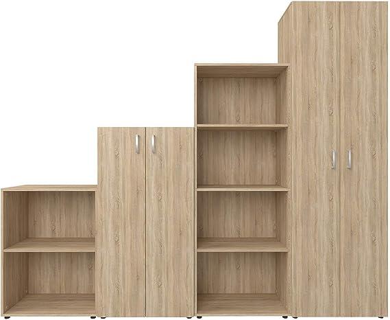 möbelando 2345 Trio - Juego Completo de Muebles de Oficina: Amazon ...