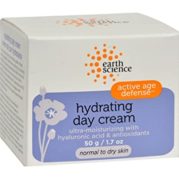 Earth Science, Active Age Defense, Hydrating Day Cream, 1.7 oz(pack of 2) NU-PORE Acne Cleansing & Moisturizing Towelettes