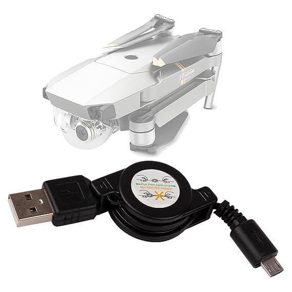 DURAGADGET Cable MicroUSB para Dron dji Mavic Pro Platinum Edition ...
