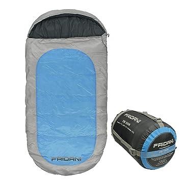 Fridani Saco de Dormir para Camping 180K PB, 12 °C, XXL, para