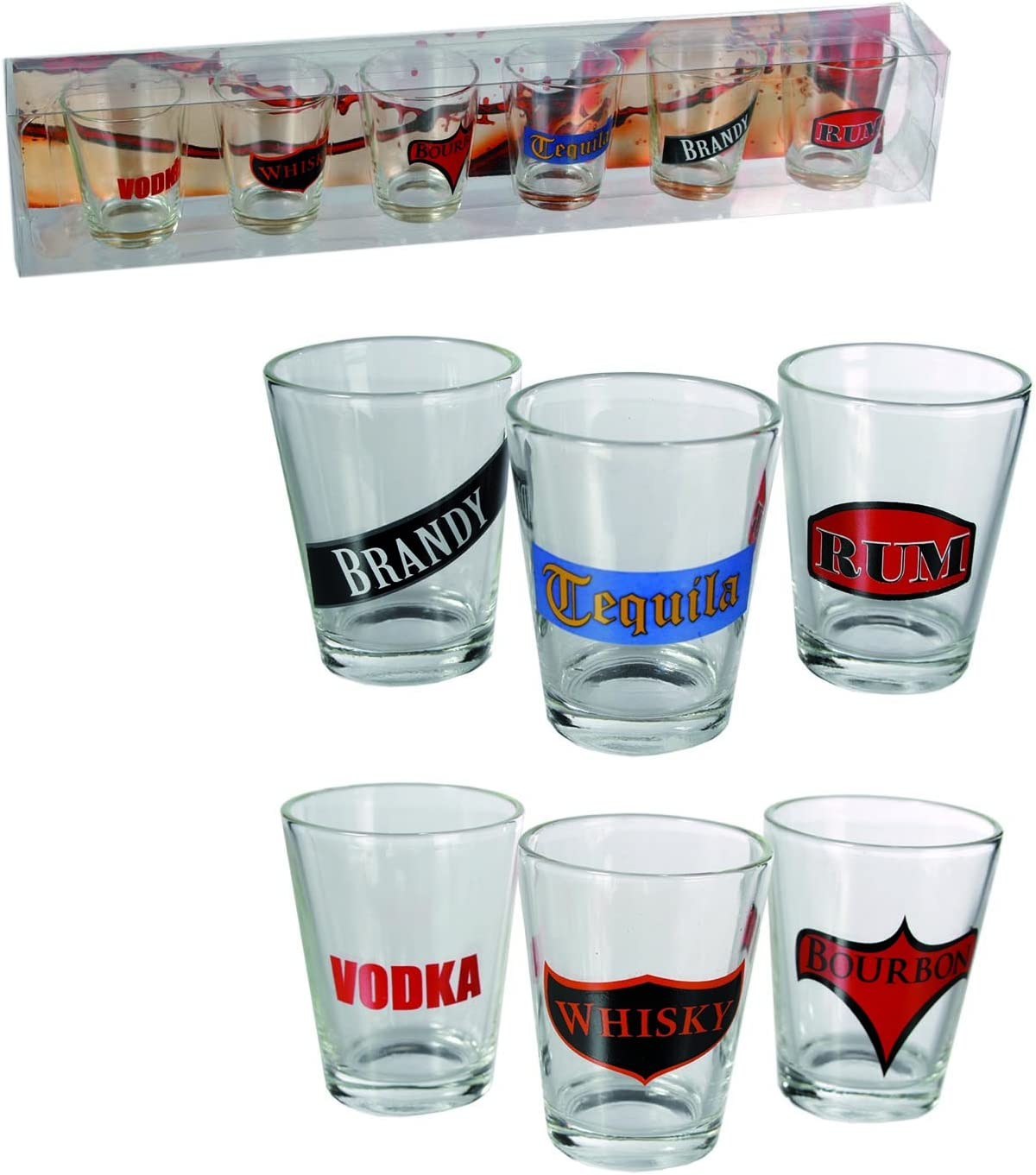 Must have present gift Set of Six Shooter Glasses Shot glasses for any occasion