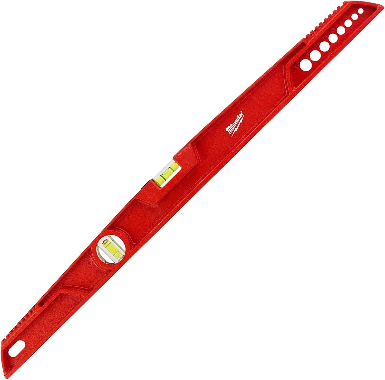 /rojo//negro Milwaukee 4932459064/80/cm redstick columna vertebral nivel/