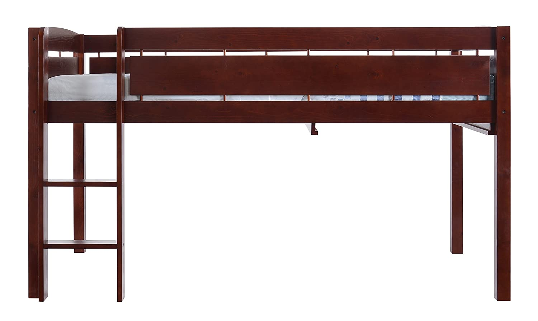 amazoncom canwood whistler junior loft bed cherry kitchen  dining -