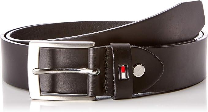 Tommy Hilfiger Adan leather belt 3.5 w95 ceinture Accessoire Black