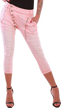 Black Denim BD Damen Jeans super Stretch Boyfriend Chino