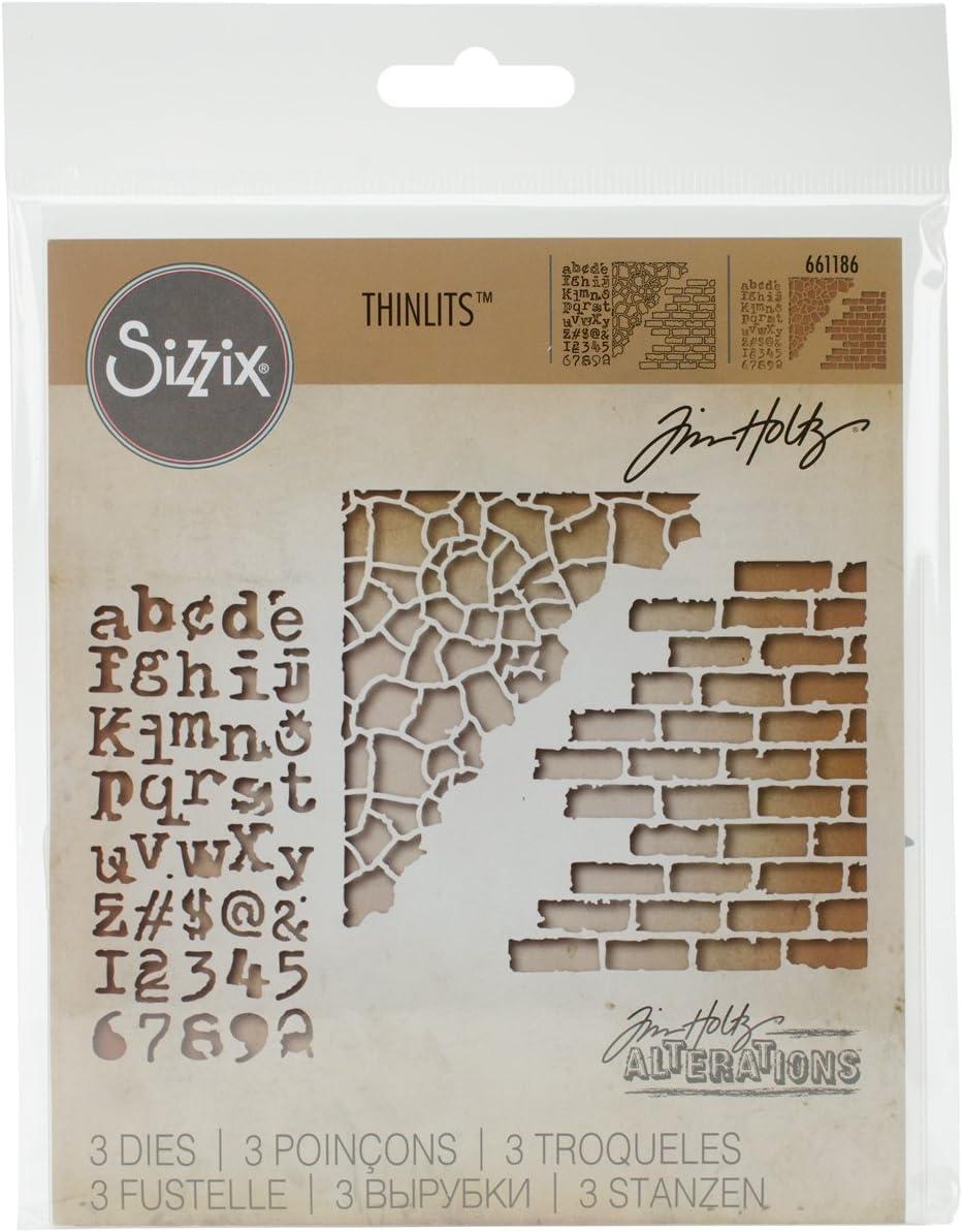 Sizzix Thinlits Cutting Dies By Tim Holtz Mixed Media 660220