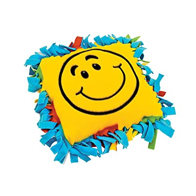 Smile Face Fleece Pillow Craft Kit - Crafts for Kids and Fun Home Activities: Toys & Games