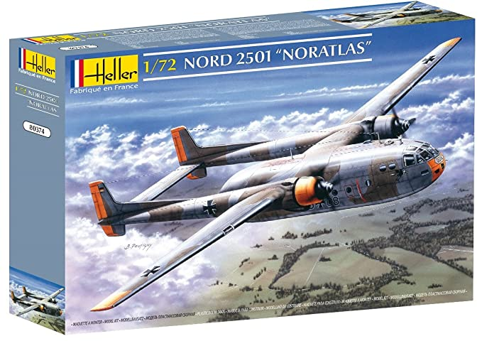 Amazon.com: Heller Nord 2501 Noratlas Airplane Model ...