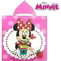 Disney Poncho Minnie Mouse Capucha Microfibra Toalla Playa