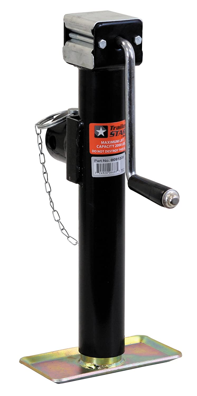 Buyers Products 91220 Side Mount Jack with Base - Capacity 2000 lbs