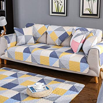 Amazon.com: Printed Cotton Sofa Furniture Protector Cover ...