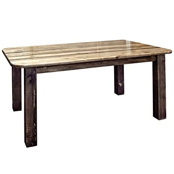 Amazon.com - Montana Woodworks Dining Table Stain & Lacquer ...