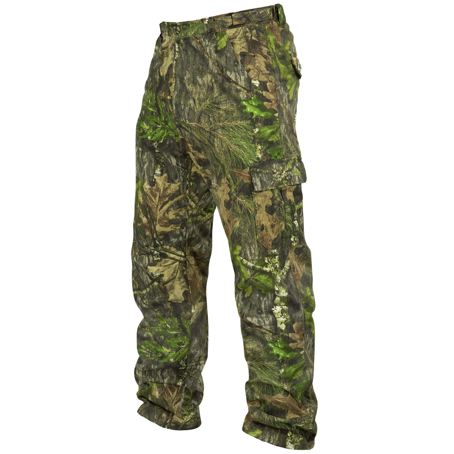 Mossy Oak Cotton Mill 2.0 Camo Hunting Pants for Men Camouflage Clothes by Mossy Oak