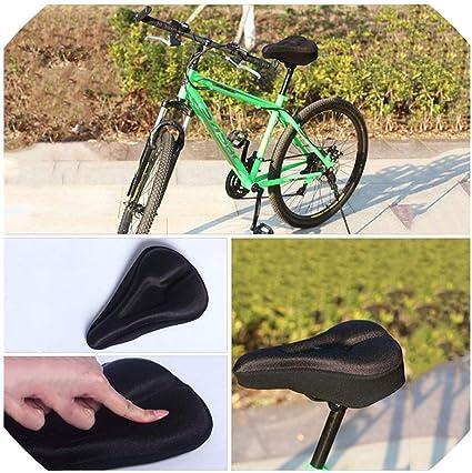 New Bicycle Saddle Seat Cover Road MTB Bike Soft Silica Gel Cushion Saddle Cover