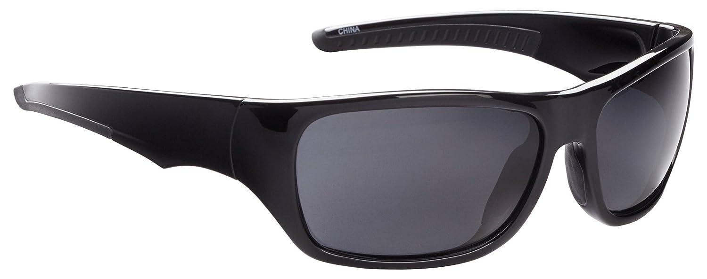 7c21d2deedd Amazon.com   Fisherman Eyewearfisherman Eyewear - Shiny Black Frame Gray  Lens